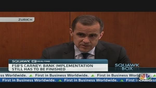 Mark Carney on the Banking System