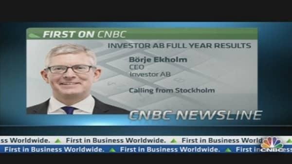Investor AB CEO: I Am More Optimistic