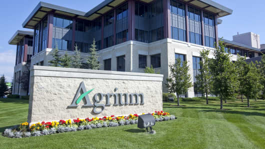 Agrium headquarters in Calgary, Alberta, Canada.