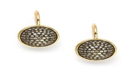 Champagne Diamond Earrings KC Designs