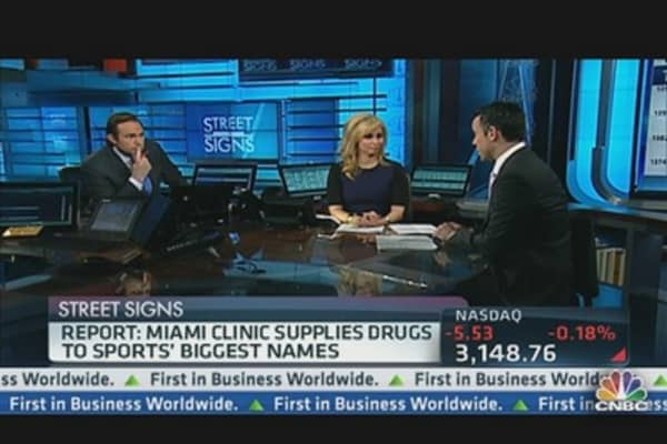 Report: Clinic Supplies Drugs to Sports' Biggest Names