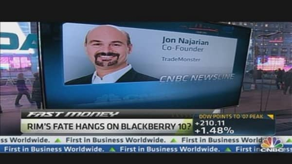 'Show-Me Time' for RIM: Jon Najarian