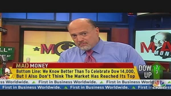 Time to Celebrate Dow 14,000?