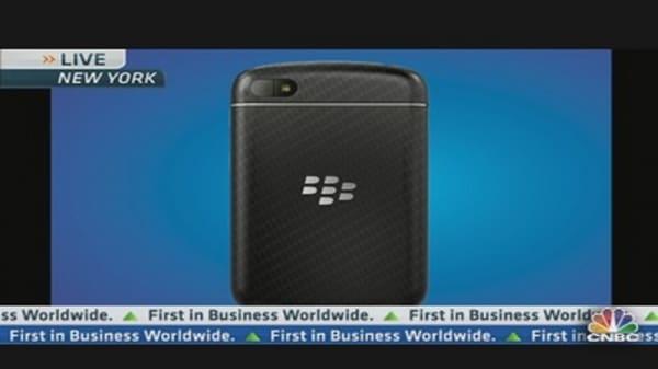 RIM CEO Unveils New BlackBerry 10