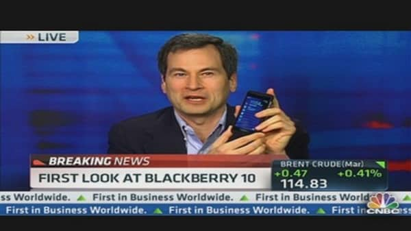 BlackBerry 10: Here's Something the iPhone Can't Do