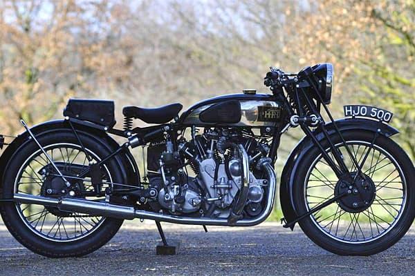 1938 Vincent HRD Series A Rapide