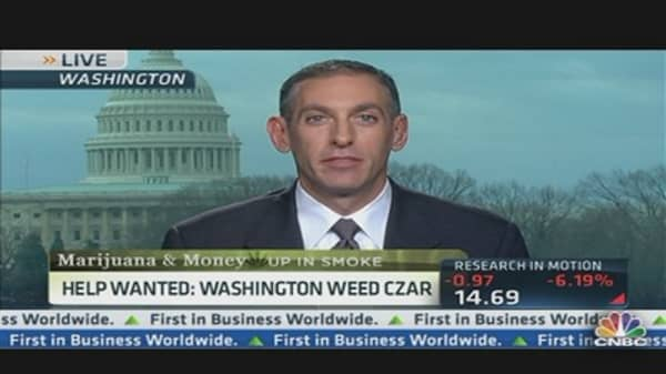 Help Wanted: Washington Weed Czar