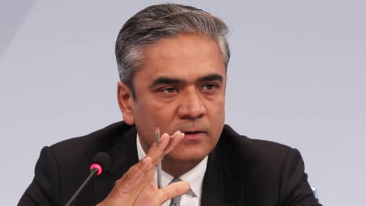 Anshu Jain, co-CEO of German's biggest bank, Deutsche Bank