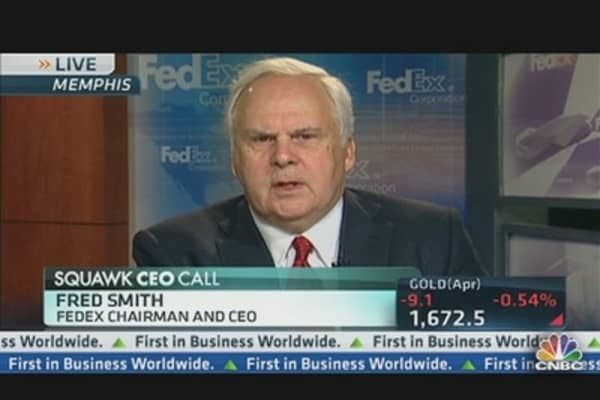 FedEx CEO: Corporate Tax System 'Dysfunctional'