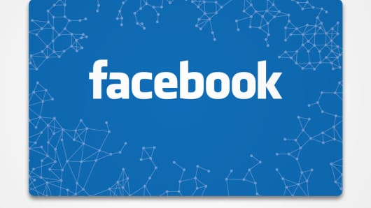 Facebook gift card front