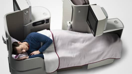 Iberia Airlines new business seat
