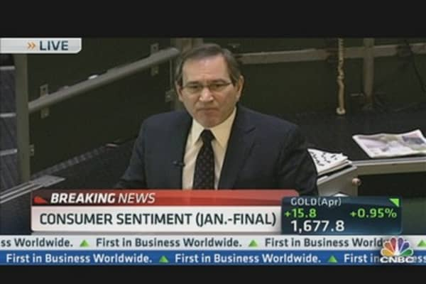 Consumer Sentiment 73.8 in January