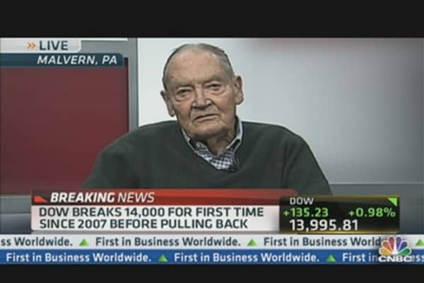 Bogle: Fed Should 'Stay Out' of Trying to Influence Market