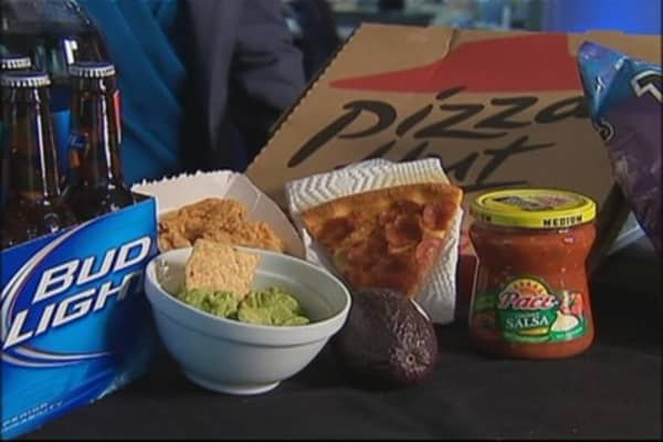 What Your Super Bowl Party's Gonna Cost