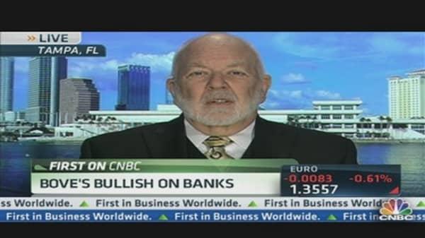 Bove's Top Bank Picks