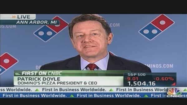 Domino's CEO on Super Bowl Pizza Showdown