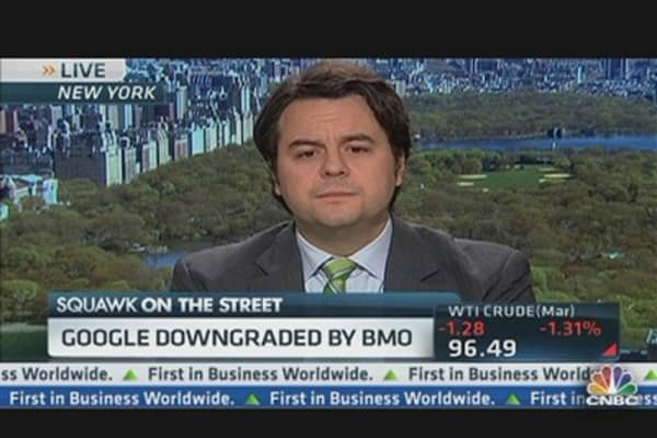 Google Downgraded By BMO