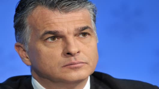 Sergio Ermotti, UBS Chief Executive Officer