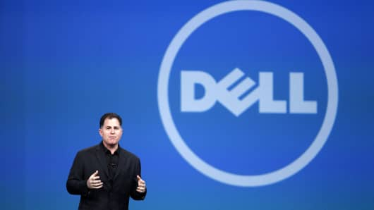 Michael Dell, chairman and chief executive officer of Dell Inc.