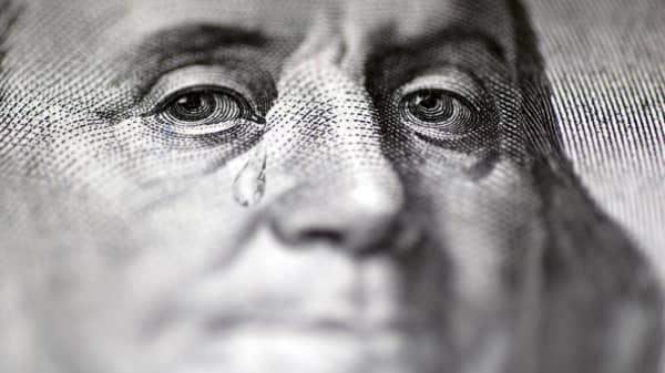 Benjamin Franklin on the dollar bill.