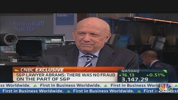S&P Lawyer on DOJ Lawsuit