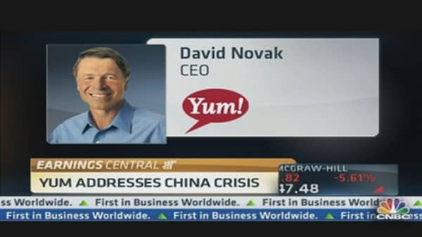 YUM Addresses China Crisis