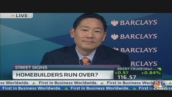 Homebuilders Take a Hit