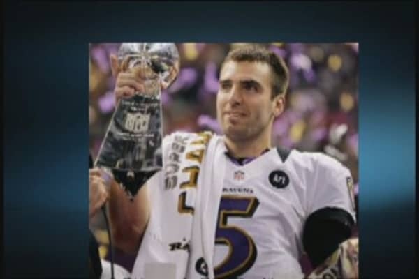 Flacco's Time to $hine