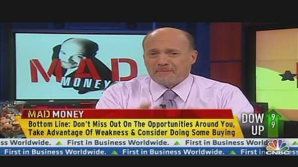 Cramer: 3 Names That Summoned the Bulls