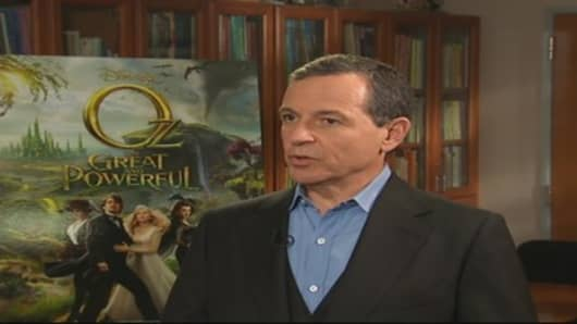 Iger on Advertising, Consumer Confidence & the Economy