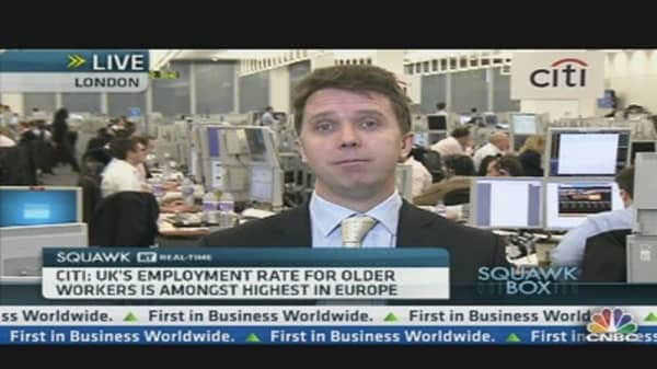 Citi: 'Under-30s Jobless Crisis in the UK'