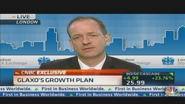 Glaxo's CEO Predicts Growth in 2013