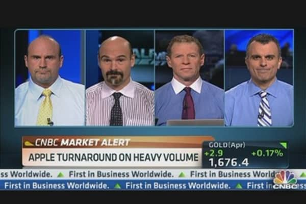 Apple Stock Level to Watch: Pete Najarian