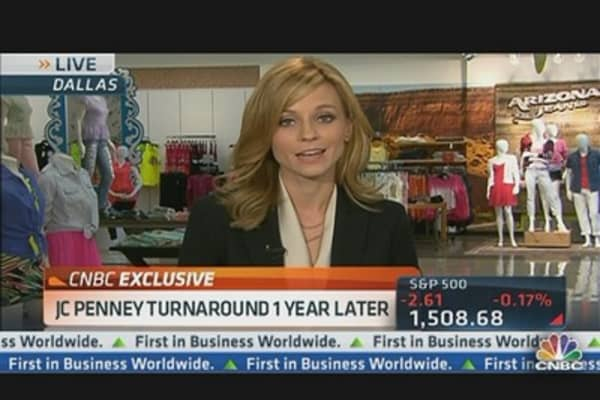JC Penney CEO: Driving Growth