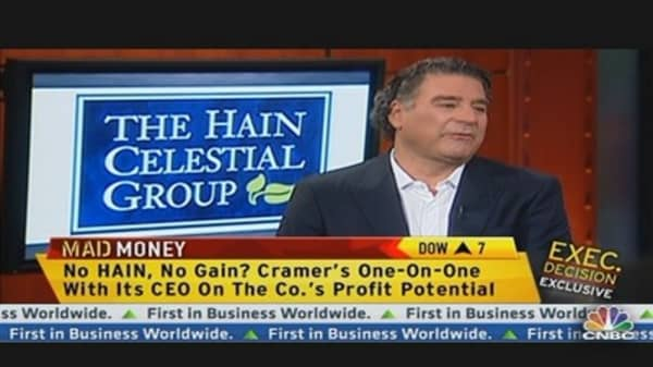 Hain Celestial CEO: Early Stages of Growth