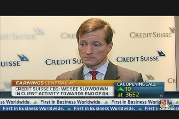 Credit Suisse CEO: Our FY Numbers Are Good