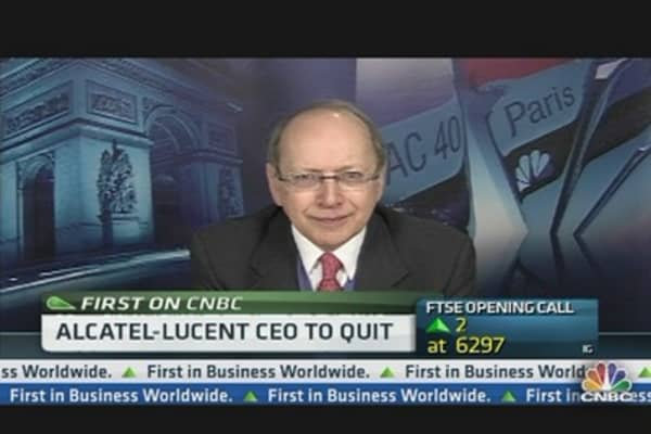 Alcatel Lucent CEO: Execution Is Not My Natural Strength