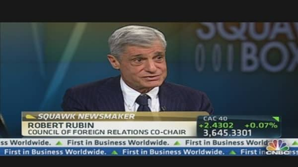 Robert Rubin on DC's Dysfunction
