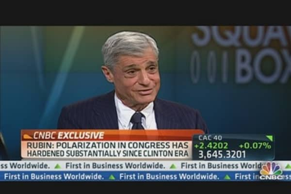 Robert Rubin on 'Too Big to Fail' Risk