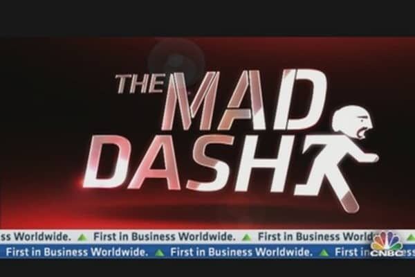 Cramer's Mad Dash: Tale of Two Apples