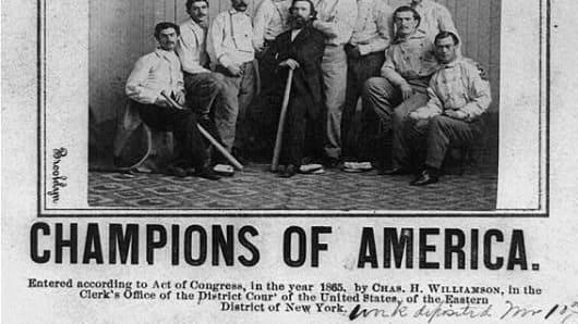 Brooklyn Atlantic baseball team 1865