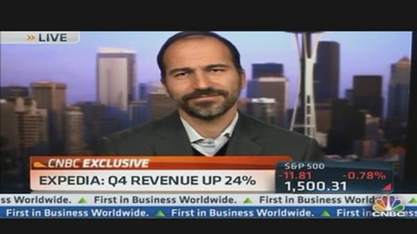 Expedia CEO Getting on Board with Bookings