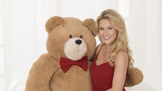 World's most expensive teddy bear.