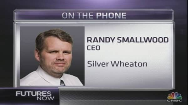 Where Gold's Going: Silver Wheaton CEO