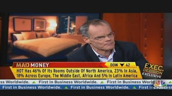 Starwood Hotels & Resorts CEO Talks Earnings