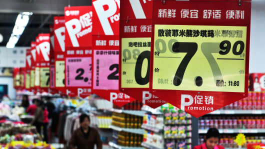 China CPI inflation slows in July, factory gate prices steady