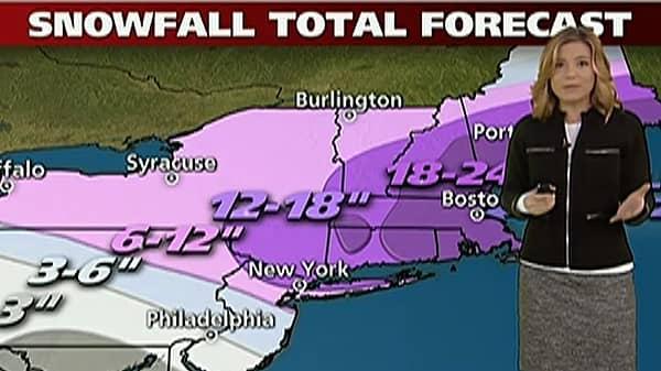 Winter Storm Nemo Takes Aim at Northeast