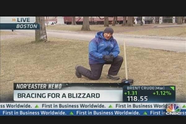 Northeast Bracing For a Blizzard