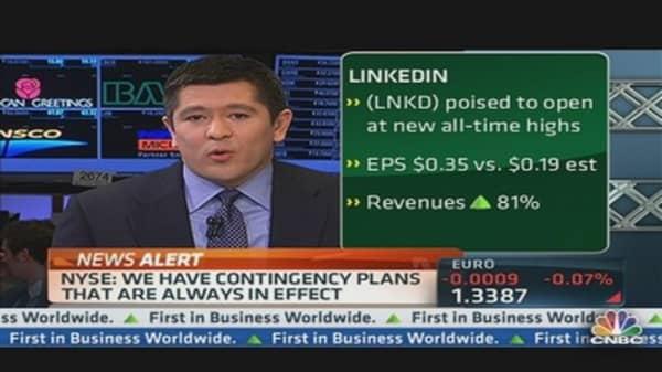 LinkedIn's Blowout Quarter