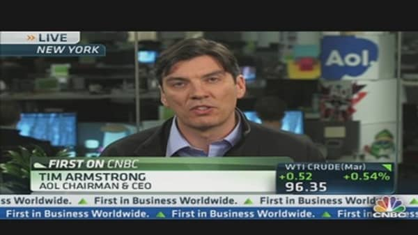 AOL Post Best Revenue Quarter in Eight Years